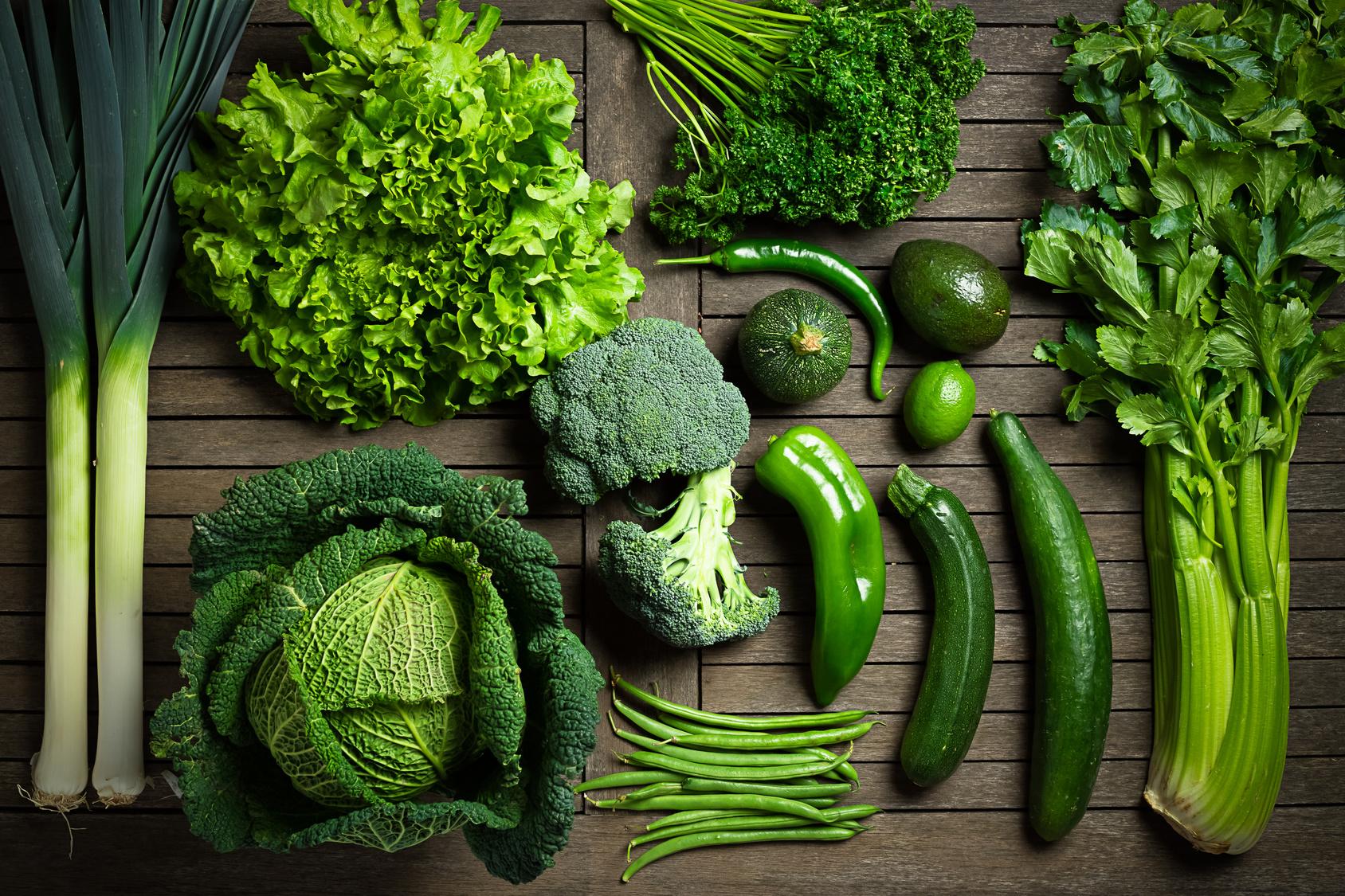 Zielone warzywa są dobre dla włosów_Codziennik Kosmetyczny