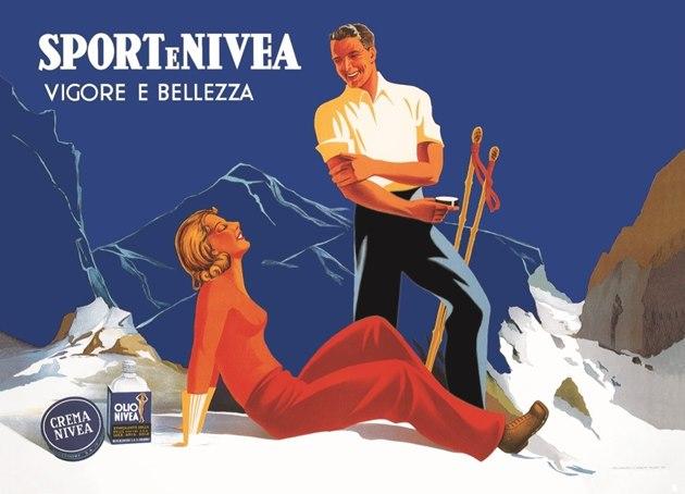 Nivea-szata graficzna-reklama